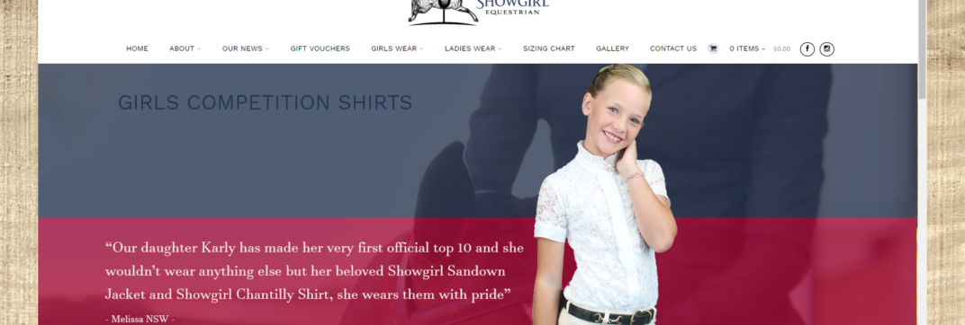 Showgirl Equestrian Outfitters